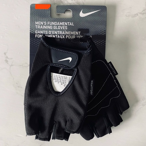 Nike Mens L Fit Dry Training Gloves Workout Gym